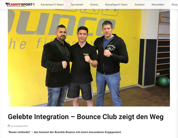 kampfsport1.at: Gelebte Integration – Bounce Club zeigt den Weg