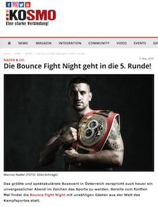 Die Bounce Fight Night geht in die 5. Runde!