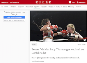 kurier.at: Golden Baby